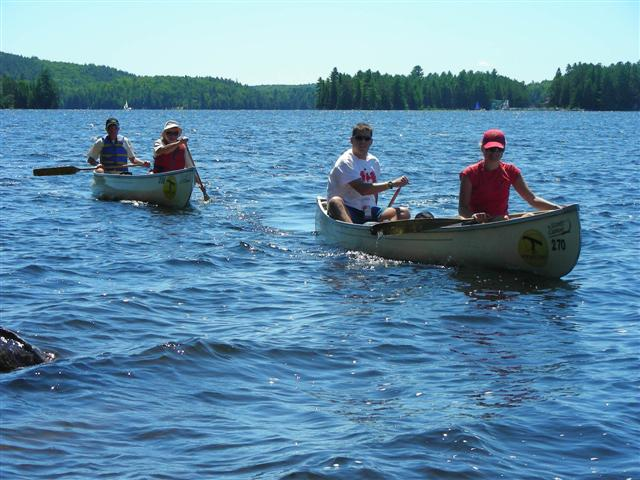 You are browsing images from the article: Algonquin Park: Canoe Lake